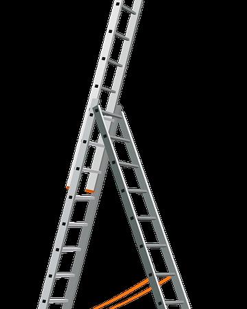 L'échelle télescopique