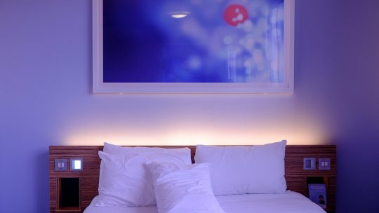La chambre, le havre de paix.